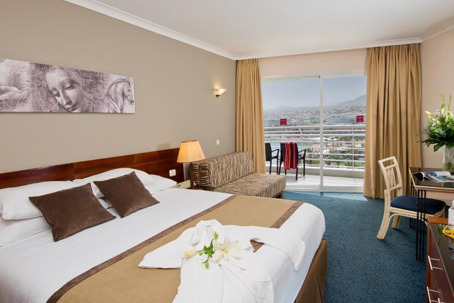 חדר סופריור עם נוף לים - מלון לאונרדו פלאזה אילת