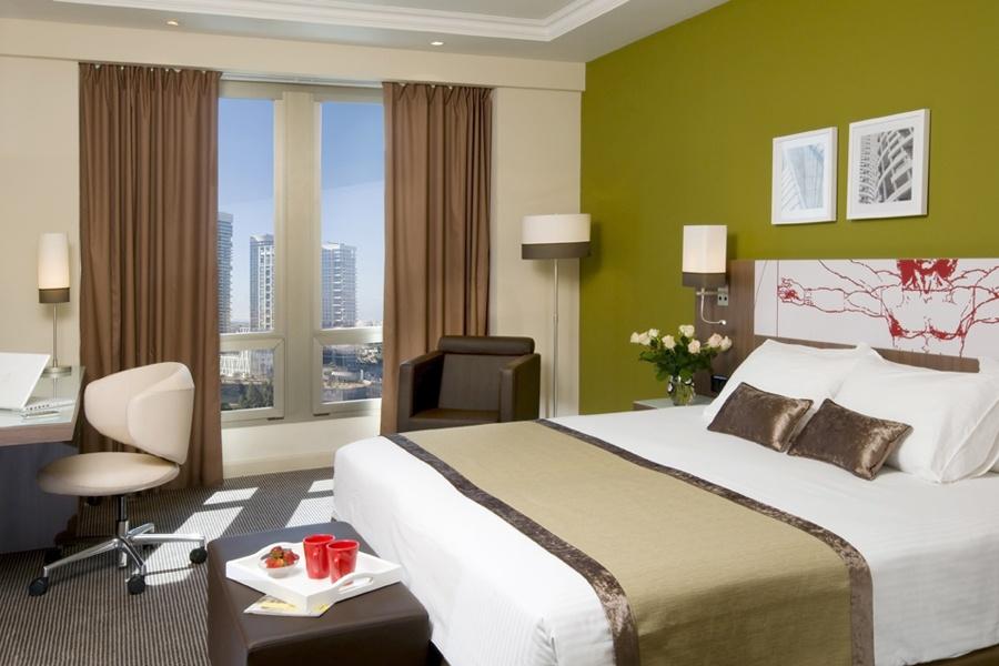 חדר אקסקיוטיב- מלון לאונרדו סיטי טאואר תל אביב