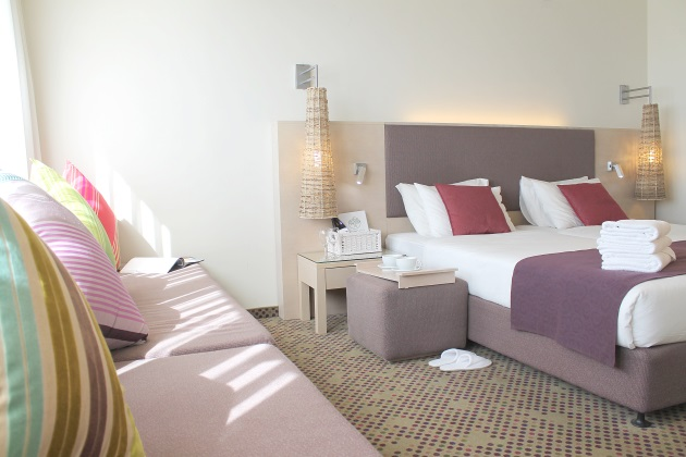 חדר סופיריור משפחתי- מלון רמת רחל ירושלים