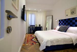 חדר סופריור עם נוף לעיר-מלון טאון -האוס תל אביב