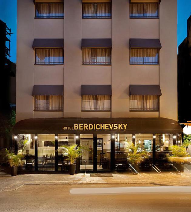 מלון בוטיק ברדיצ׳בסקי תל אביב