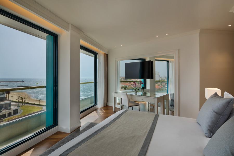 חדר דלקס -מלון אוקיינוס הרצליה