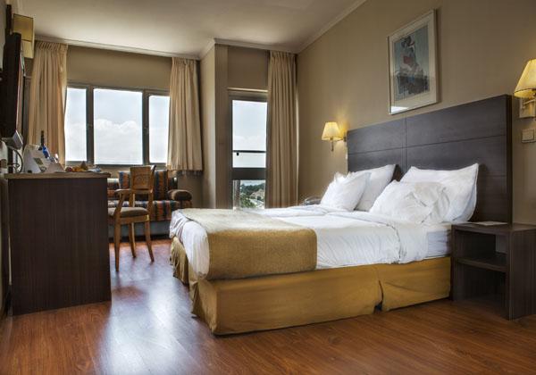חדר סטנדרט גולן- מלון רימונים מינרל כנרת