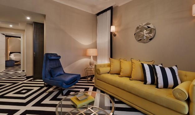 """סוויטת דלקס עם 2 חדרי שינה -מלון בראון ביץ האוס ת""""א"""