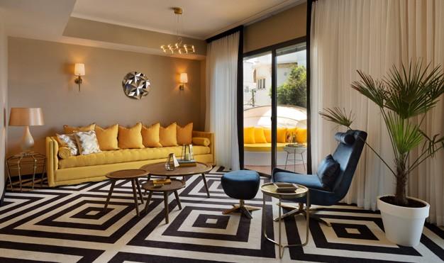 סוויטת סטנדרט 2 חדרי שינה -מלון בראון ביץ האוס