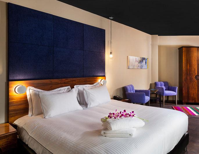 סוויטת פרימיום שני חדרי שינה- מלון פורט אנד בלו