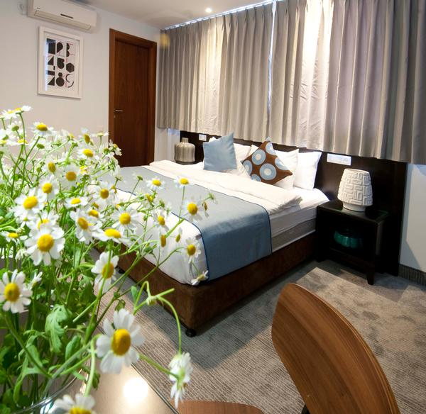 חדר סטנדרט דבל - מלון בוטיק אמבסי תל אביב