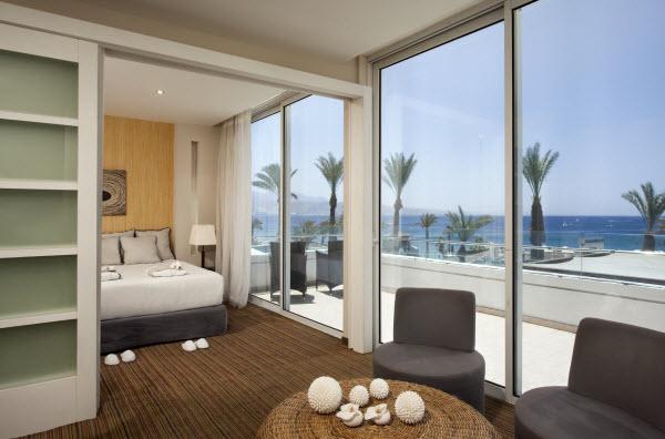 סוויטה עם נוף לים - מלון אסטר מאריס אילת