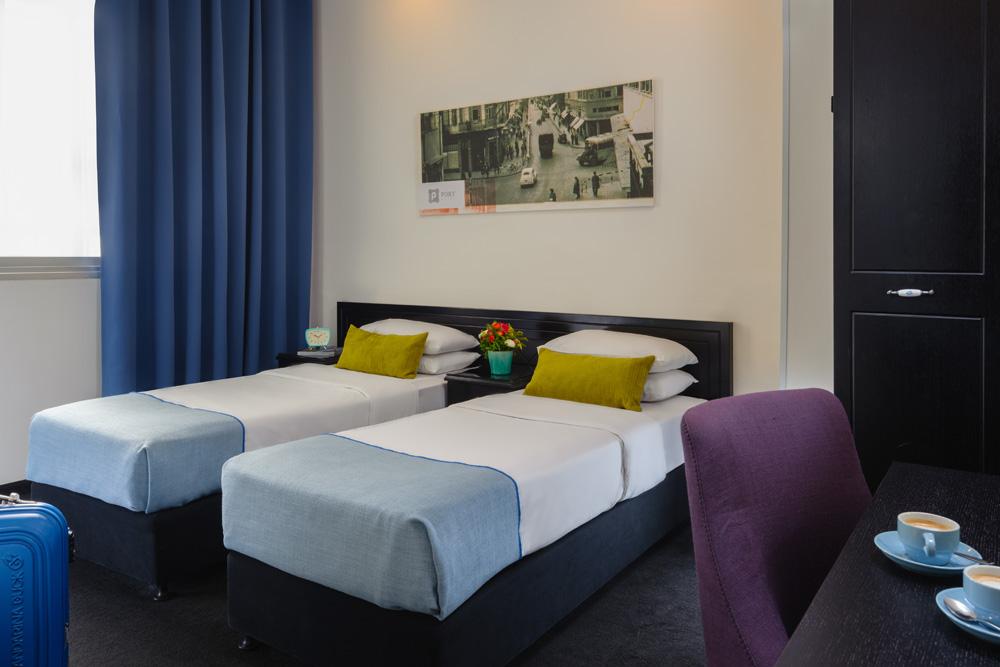 חדר טווין - מלון בוטיק פורט תל אביב