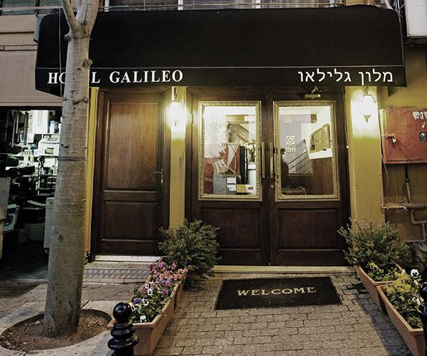 מלון גלילאו תל אביב -רשת סאן