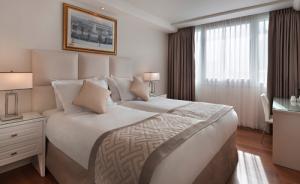 חדר סופריור נוף צידי לים מיטה זוגית  - מלון אורכידאה תל אביב