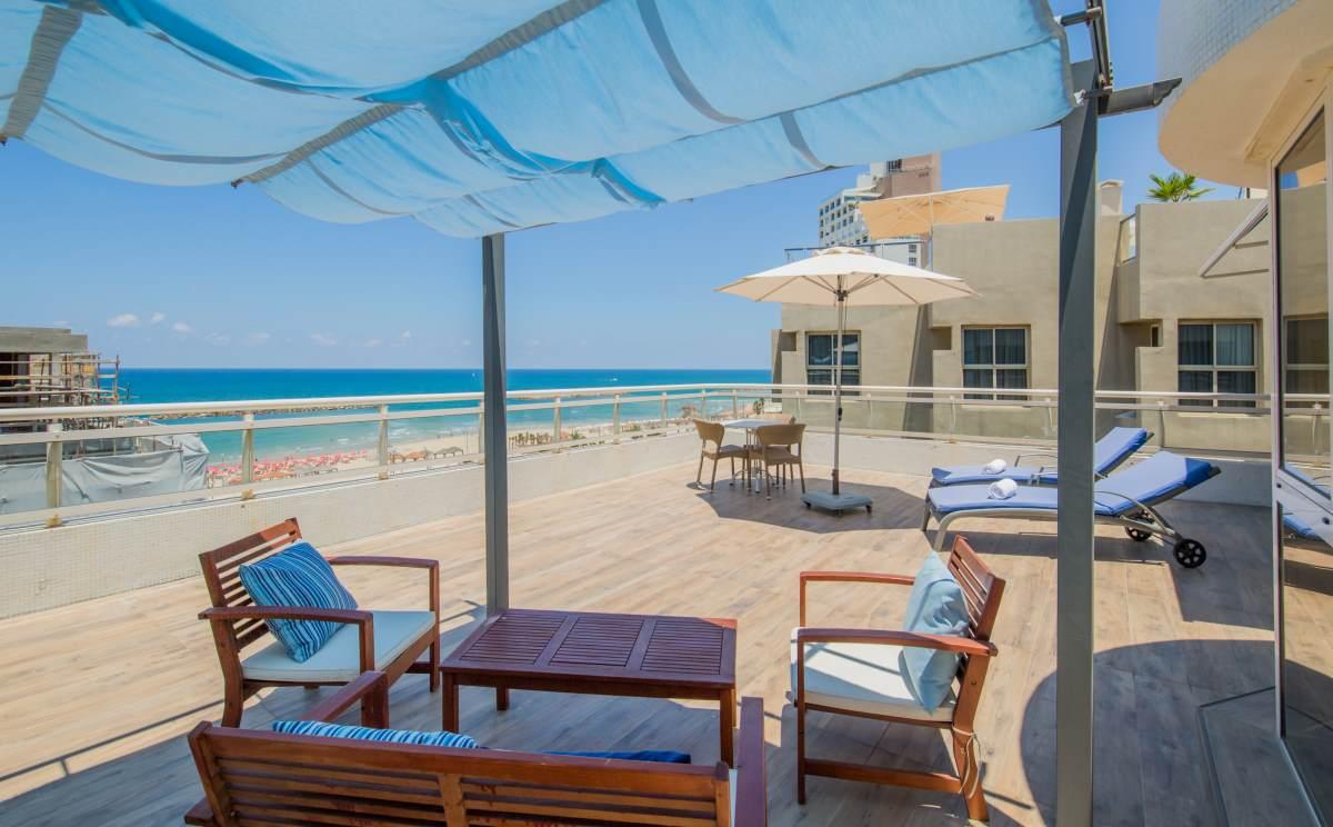 מלון לוסקי סוויטות וחדרים תל אביב