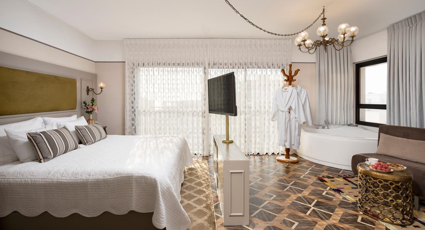 סוויטה רומנטית - מלון שטרקמן ארנה נהריה