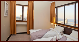 Double classic rooms with sea view