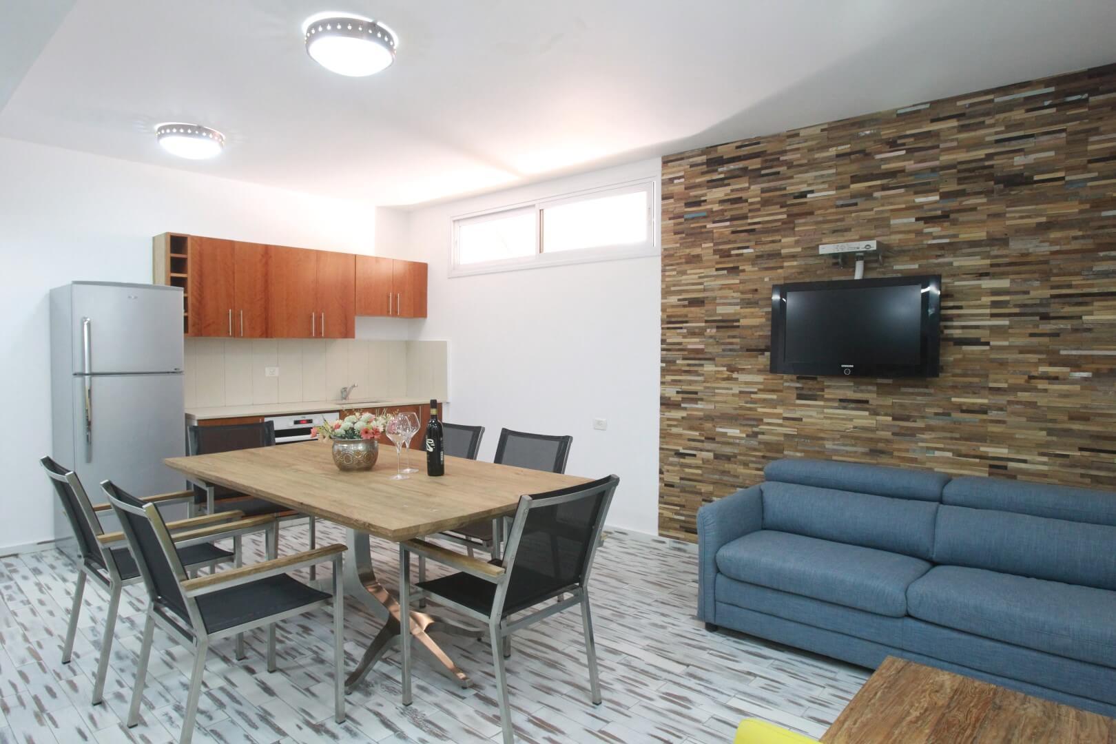 English basement apartment