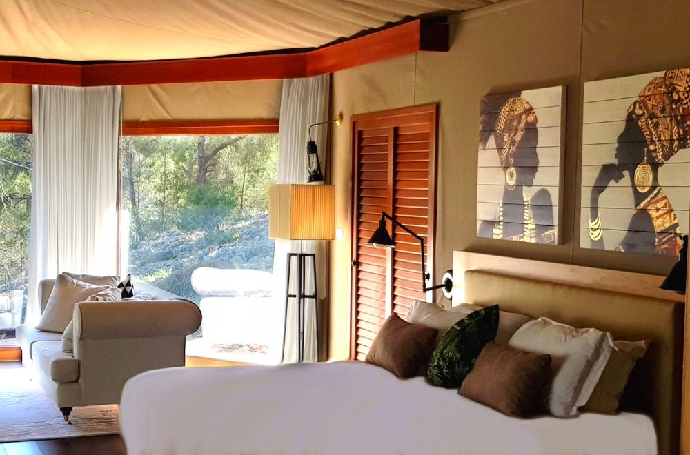 אוהל אפריקאי - בית בגליל