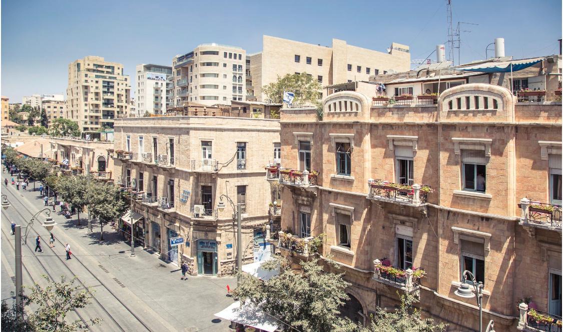 דירות צ'ק אין ירושלים - Stay Jaffa